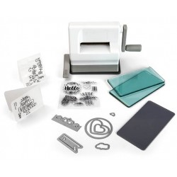 SIZZIX SIDEKICK STARTER KIT (White & Gray) by Ellison