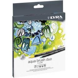 LYRA AQUA BRUSH DUO (Caja 12 colores)