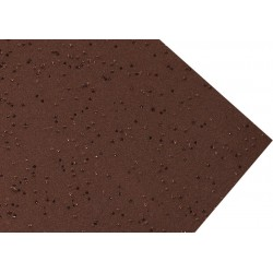 GOMA EVA GLITTER CARCOMA 60X40 2MM MARRON