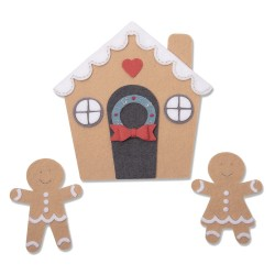 "SIZZIX CORTADOR BIGZ PLUS ""Gingerbread House by Jennifer Ogborn''"