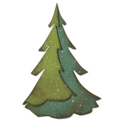 "SIZZIX CORTADOR BIGZ ""Layered Pine by Tim Holtz''"