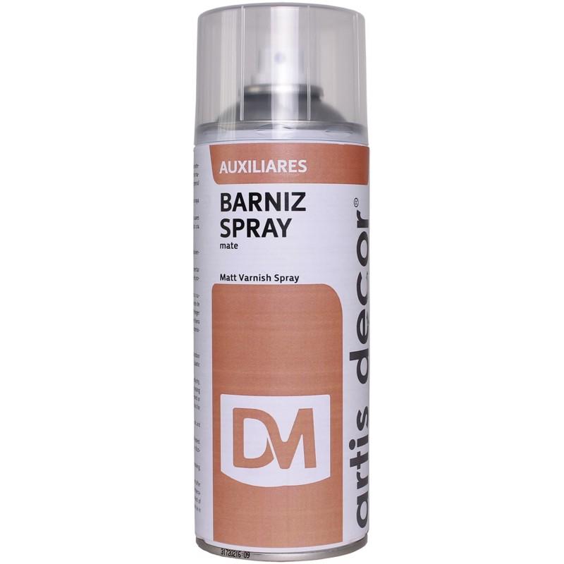 BARNIZ SPRAY MATE ARTIS-DECOR 400ML.