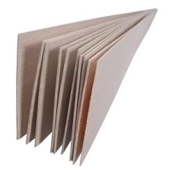 Plancha de madera de balsa 1000 X 100 X 2mm