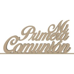 MI PRIMERA COMUNION CON PEANA 60X27X8 CM