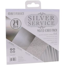 9397E MIXED CARD PACK 6X6''. Silver Service