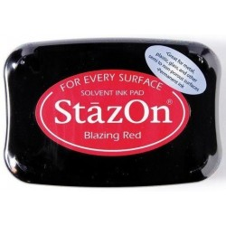 StazOn TAMPON 50GR.BLAZING RED