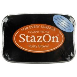 StazOn TAMPON 50GR.RUSTY BROWN