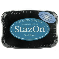 StazOn TAMPON 50GR.TEAL BLUE