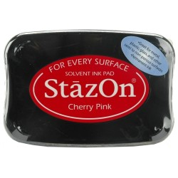 StazOn TAMPON 50GR.CHERRY PINK