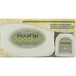 StazOn OPAQUE TAMPON FAVA...