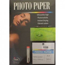 PAPEL PHOTO EVERYDAY GLOSSY A-4 (100HJ) 180GR.