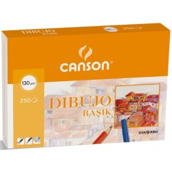 PAPEL BASIK 21X29.7CM (250HJ) 130G. CANSON