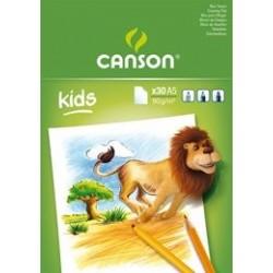 BLOC KIDS CANSON DIBUJO A4...