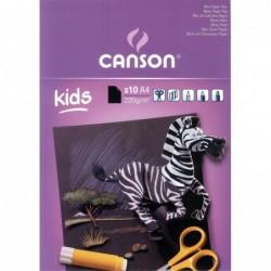 BLOC KIDS CANSON CARTULINA...
