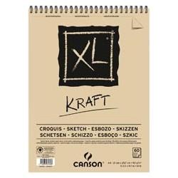 BLOC XL KRAFT A4-21x29,7cm....