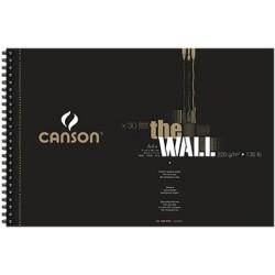 "BLOC ""THE WALL"" ESP.MICR. 21X29,7 (30HJ) 220G. CANSON"