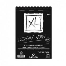 BLOC XL DESSIN NOIR A5-14,8x21cm. (20hj.) 150gr. CANSON