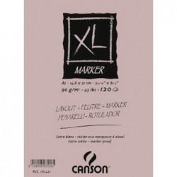ALBUM ENCOLADO XL MARKER 21X29,7 (100HJ) 70G. CANSON