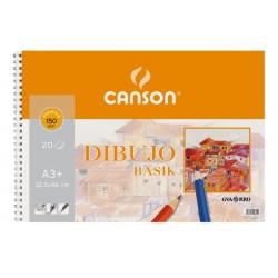 BLOC BASIK DIBUJO 32,5X46 (20HJ) 150G. CANSON