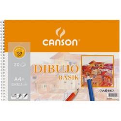 BLOC BASIK DIBUJO 23X32,5 (20HJ) 150G. CANSON
