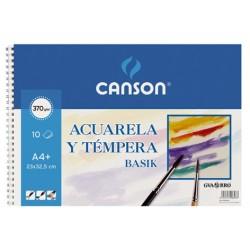 BLOC BASIK ACUAREL 23X32.5 (10HJ) 370G. CANSON
