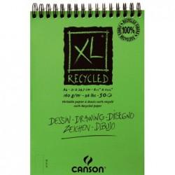 BLOC XL VERDE RECI.21X29.7 (50HJ) 160G. CANSON