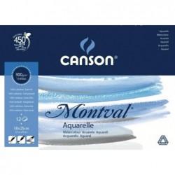 BLOC MONTVAL 24X32 (100HJ) 200G. CANSON
