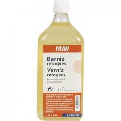 BARNIZ RETOQUES 1L.TITAN