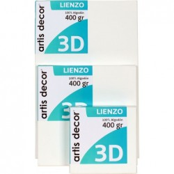 LIENZO ARTIS 3D 25X25 TELA...