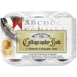SURTIDO 6 TINTAS CALIGRAFIA 30ML.W&N
