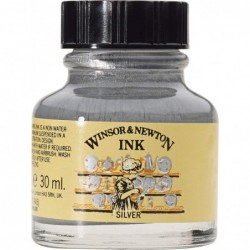 TINTA CALIGRAFIA 30ML.W&N Nº283 PLATA