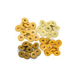 WIDE EYELETS ALUMINUM YELLOW