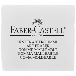GOMA MALEABLE BLANCA CARBONCILLO/PASTEL