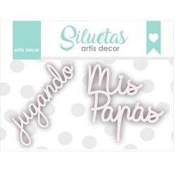 JUGANDO/ MIS PAPAS CHIPBOARD