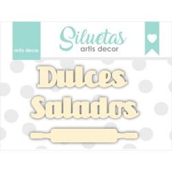 """DULCES – SALADOS"" CHIPBOARD"