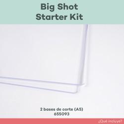 2 bases de corte incluidos en big shot starter kit