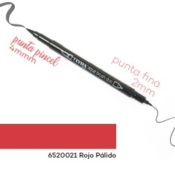 LYRA ROJO PÁLIDO AQUA BRUSH DUO