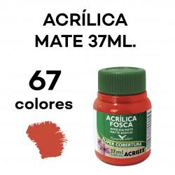 37ML. MATE PINTURA ACRÍLICA...
