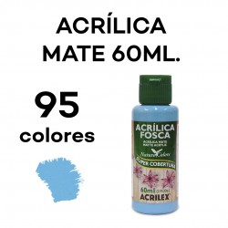 60ML. MATE PINTURA ACRÍLICA