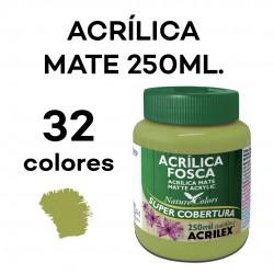250ML. ACRÍLICA MATE