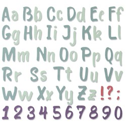 """Bold Brush Alphabet by..."