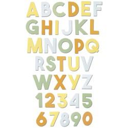 """""""Chunky Alphabet by..."""