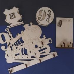 Pack soportes de madera de chopo colección Escuela de Magia Volumen 2