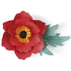 """""""Anemone Flower"""" SIZZIX..."""