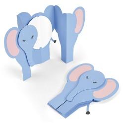 """""""Card Elephant Fold-a-Long..."""