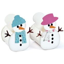 """Box Snowman by Eileen..."