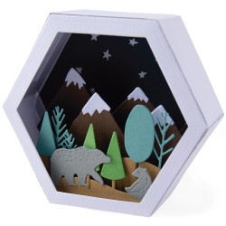 """""""Box Winter Scene by J...."""