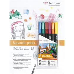 TOMBOW PACK PAPEL ACUARELA...