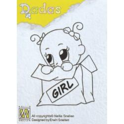 DADA GIRL PEEKABOO