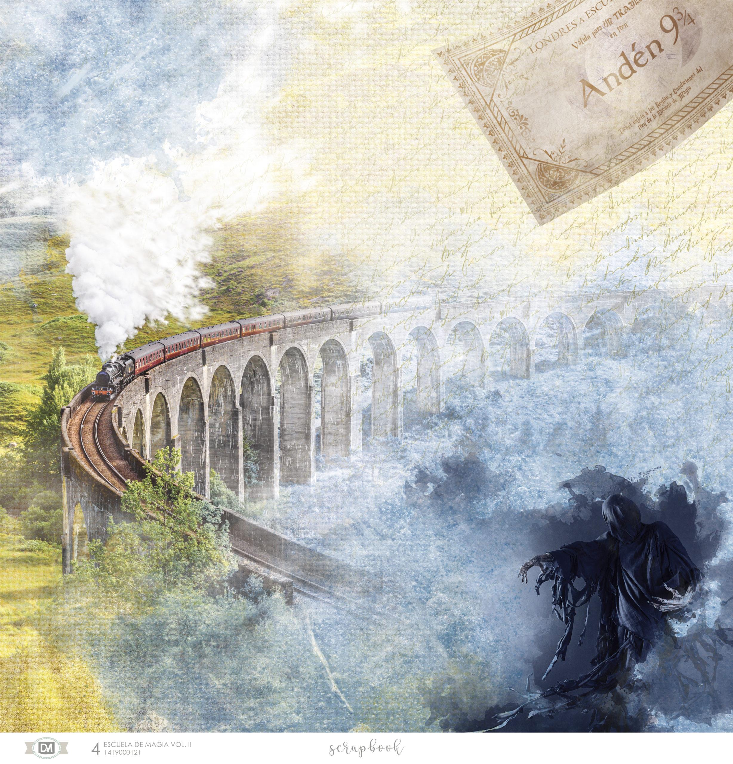 Tren escuela de magia volumen 2